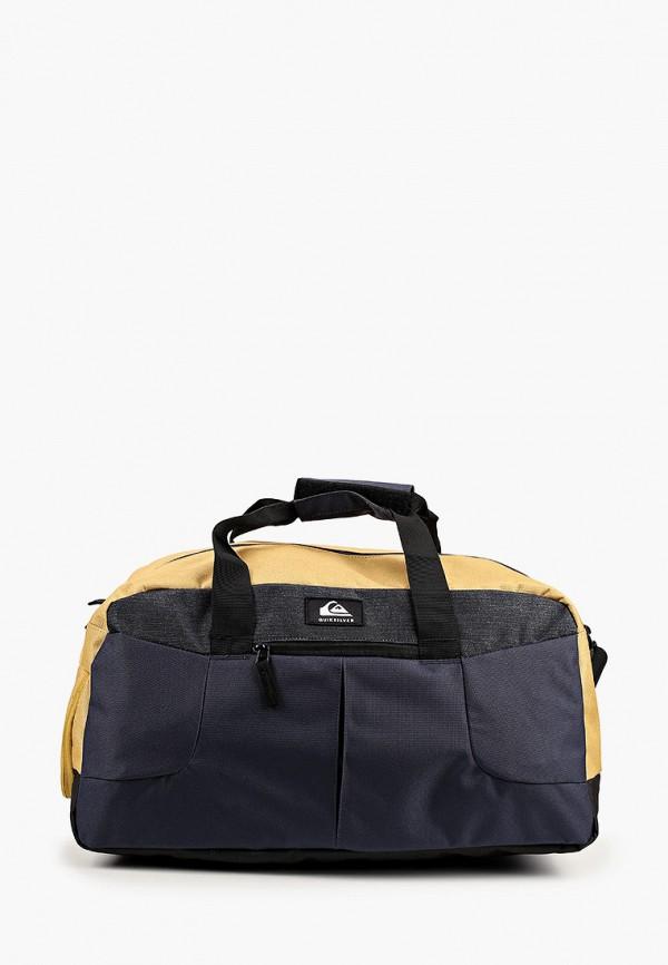 мужская сумка quiksilver, разноцветная