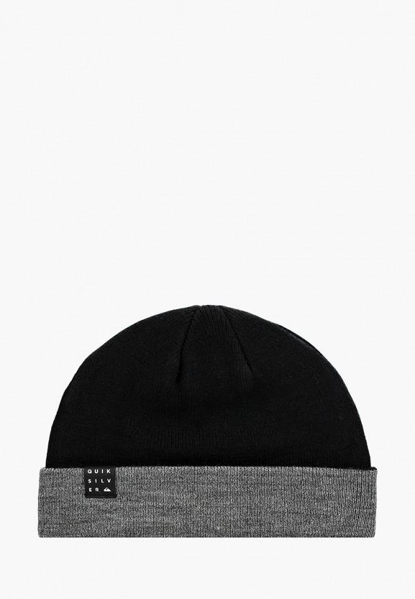мужская шапка quiksilver, черная