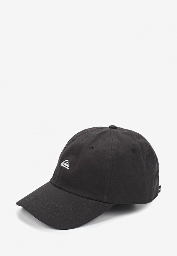 мужская бейсболка quiksilver, черная