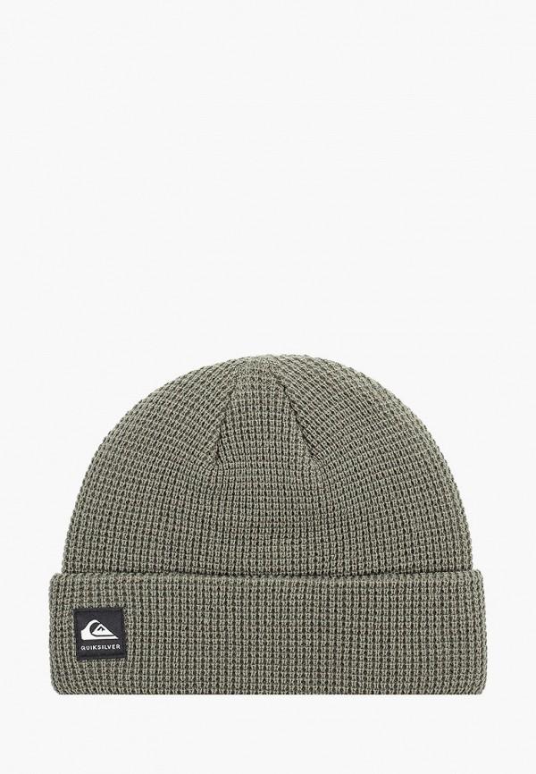 мужская шапка quiksilver, хаки