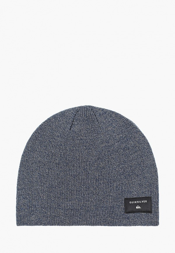 мужская шапка quiksilver, синяя