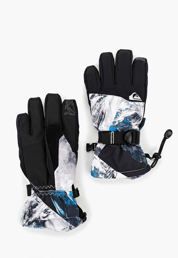 перчатки quiksilver для мальчика, черные
