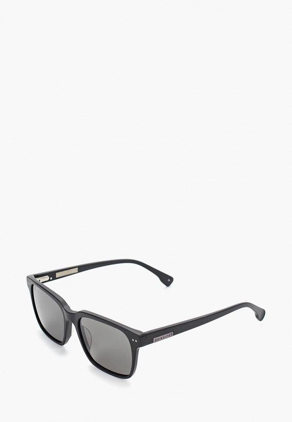 мужские квадратные солнцезащитные очки quiksilver, черные