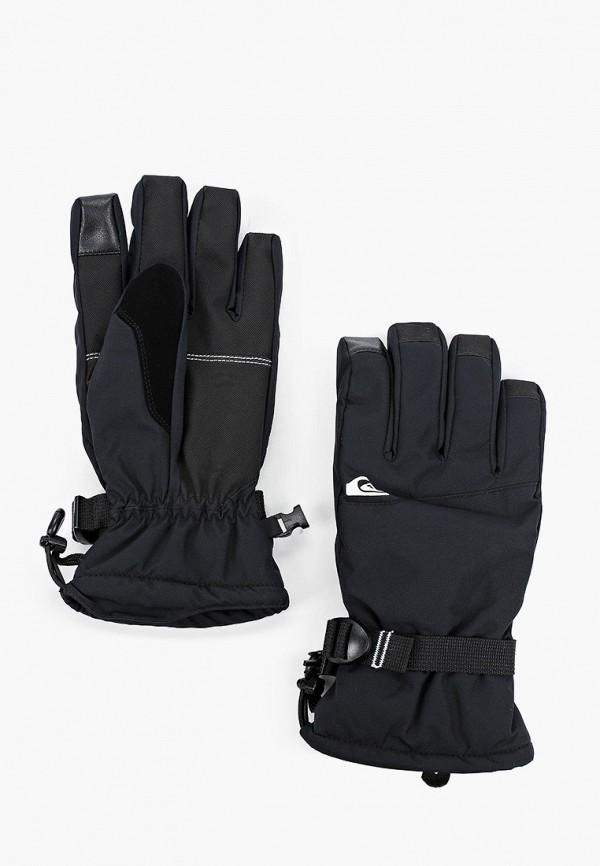мужские перчатки quiksilver, черные