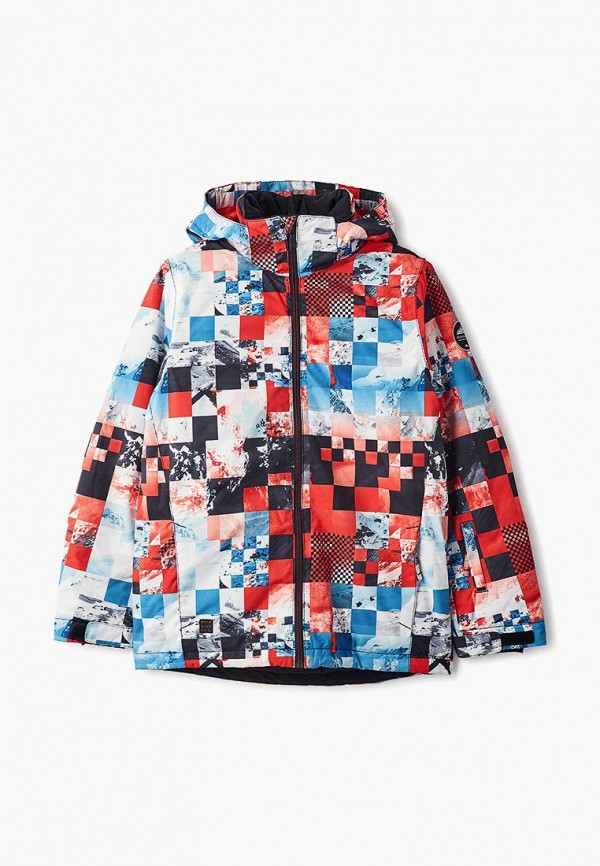 куртка quiksilver для мальчика, разноцветная