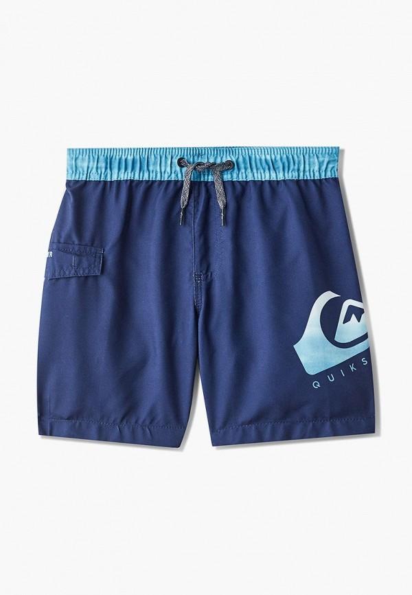 спортивные шорты quiksilver для мальчика, синие