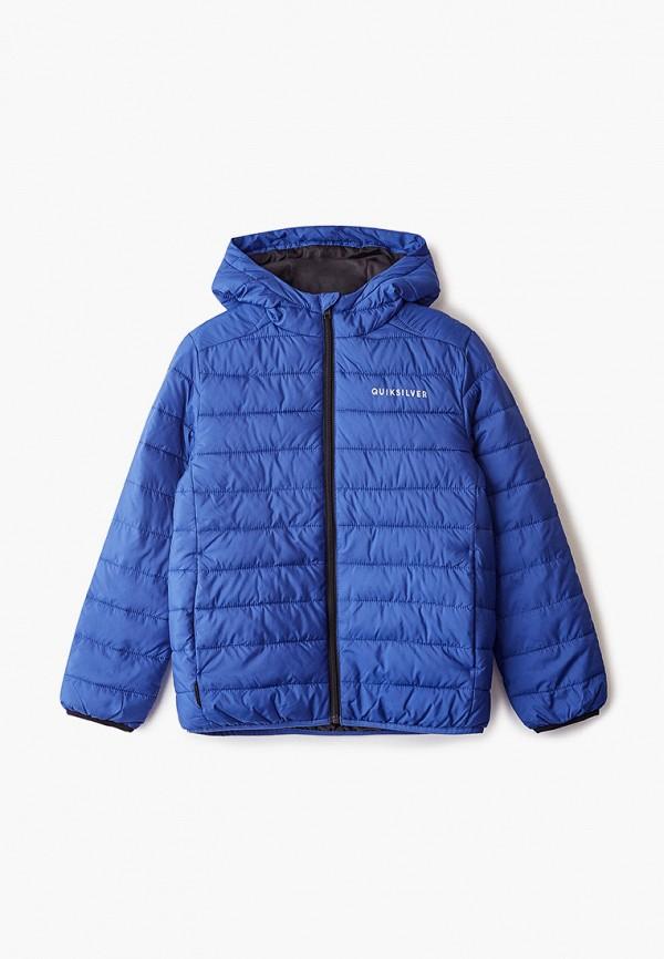 куртка quiksilver для мальчика, синяя