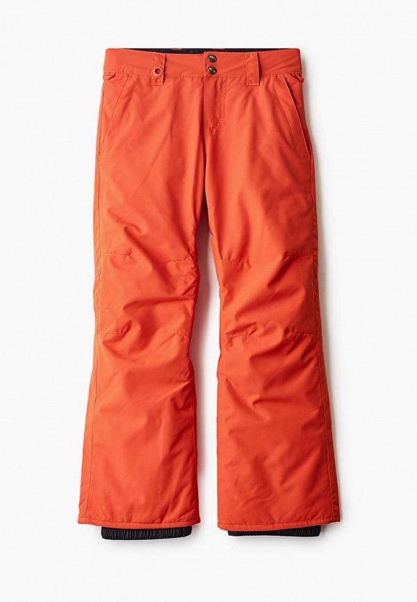 брюки quiksilver для мальчика, красные