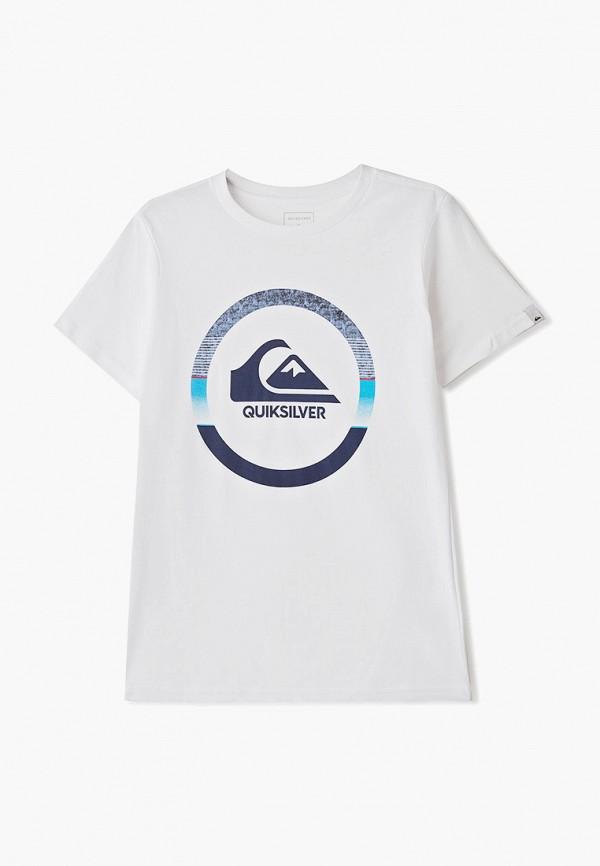 Футболка Quiksilver Quiksilver QU192EBFZRK8 футболка мужская quiksilver mandwsstee цвет белый eqyzt05262 wbb0 размер s 44