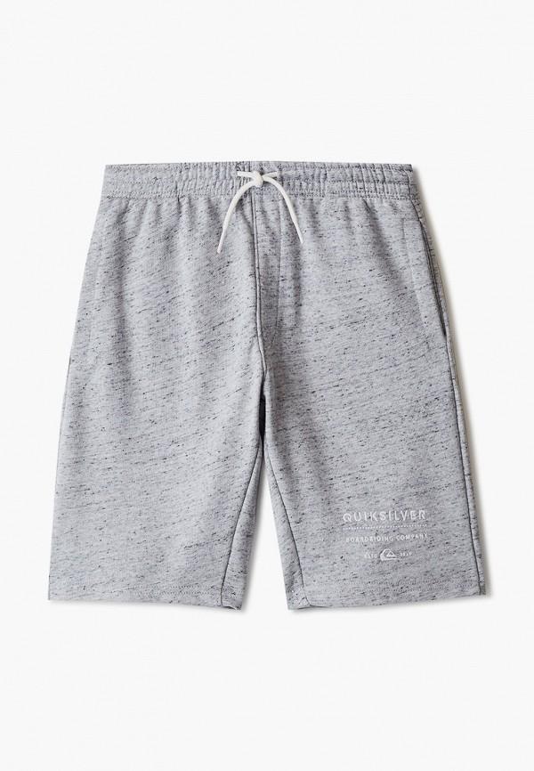 шорты quiksilver для мальчика, серые