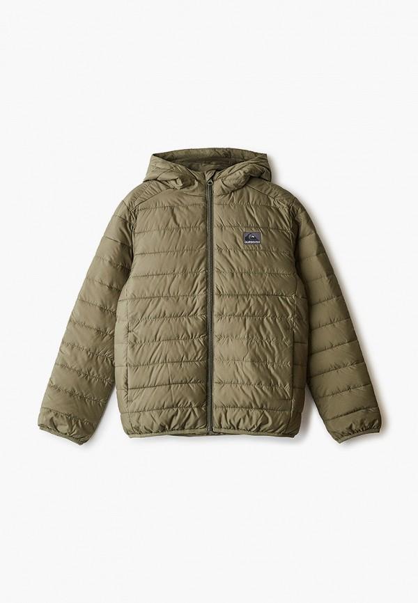куртка quiksilver для мальчика, хаки