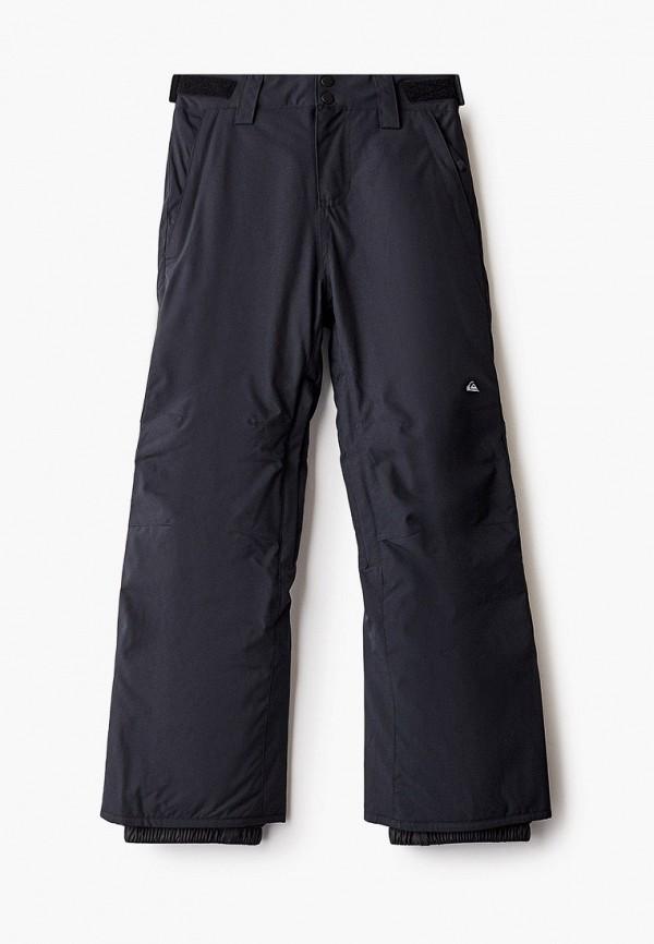 брюки quiksilver для мальчика, черные