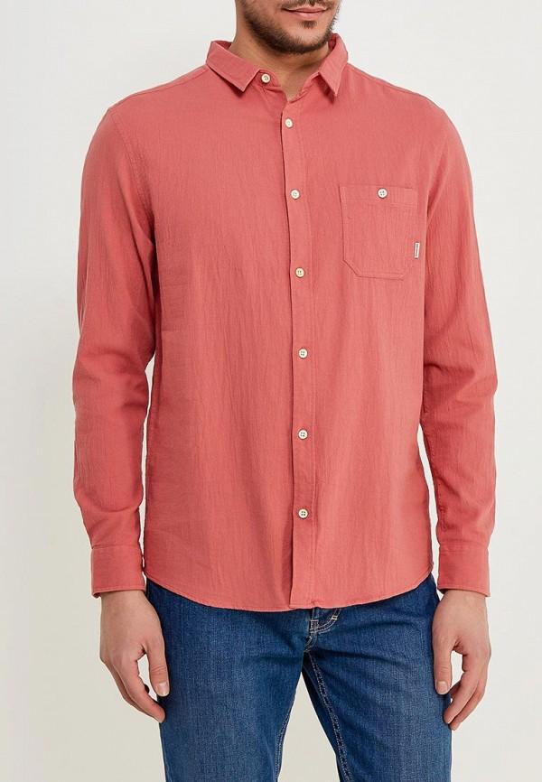 мужская рубашка quiksilver, розовая