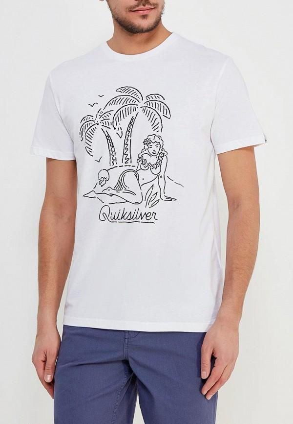 Футболка Quiksilver Quiksilver QU192EMAKJN6 футболка quiksilver quiksilver qu192empvf39