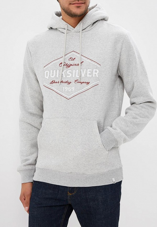 Худи Quiksilver Quiksilver QU192EMCFGD0 худи print bar fall out boy
