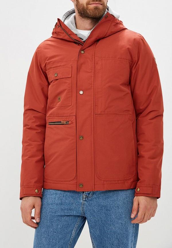мужская куртка quiksilver, бордовая