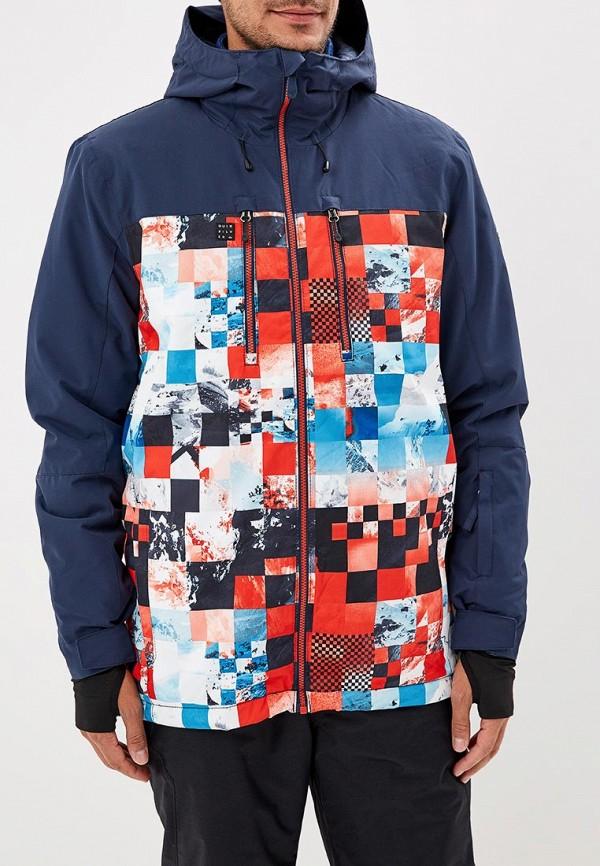 Куртка сноубордическая Quiksilver Quiksilver QU192EMCFGR8 поло quiksilver quiksilver qu192emcgtp4