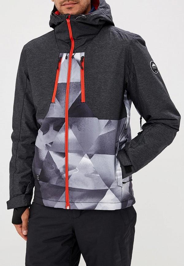 Куртка сноубордическая Quiksilver Quiksilver QU192EMCFGR9 поло quiksilver quiksilver qu192emcgtp4