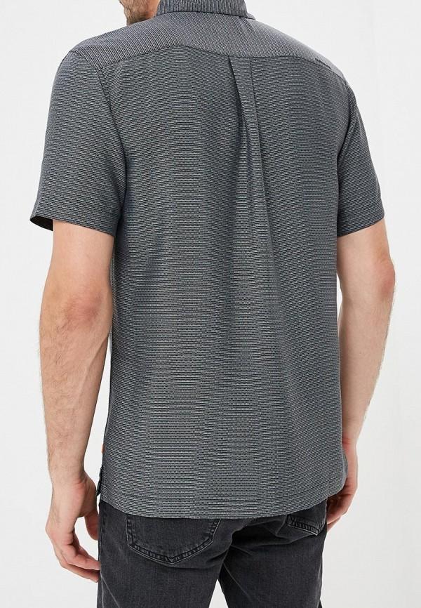 Фото 3 - мужскую рубашку Quiksilver черного цвета