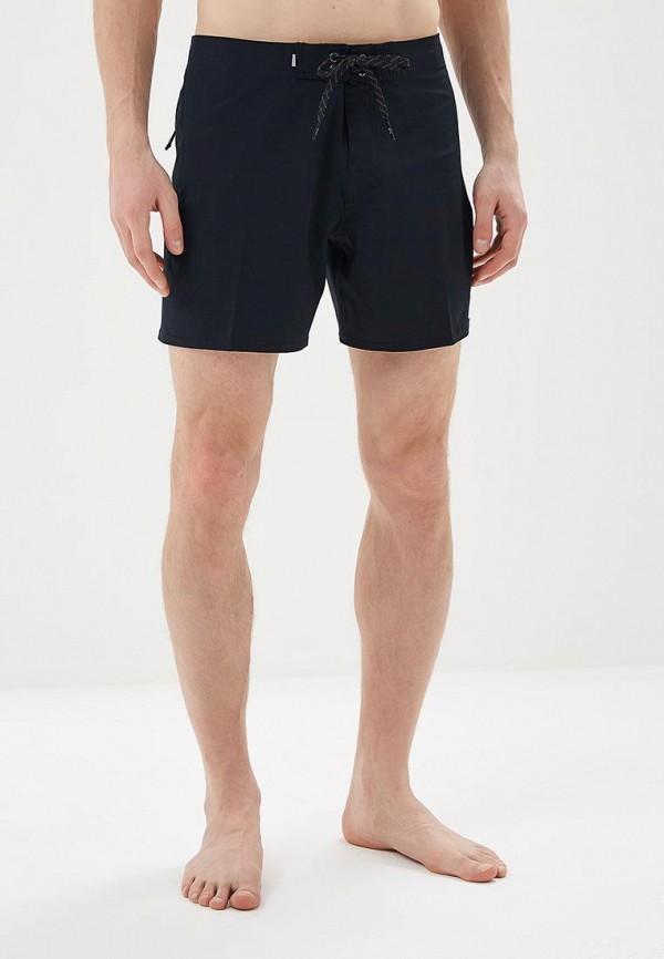 мужские спортивные спортивные шорты quiksilver, черные