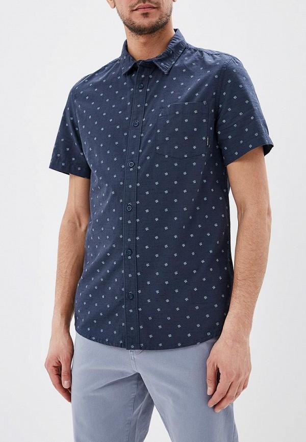 мужская спортивные рубашка quiksilver, синяя