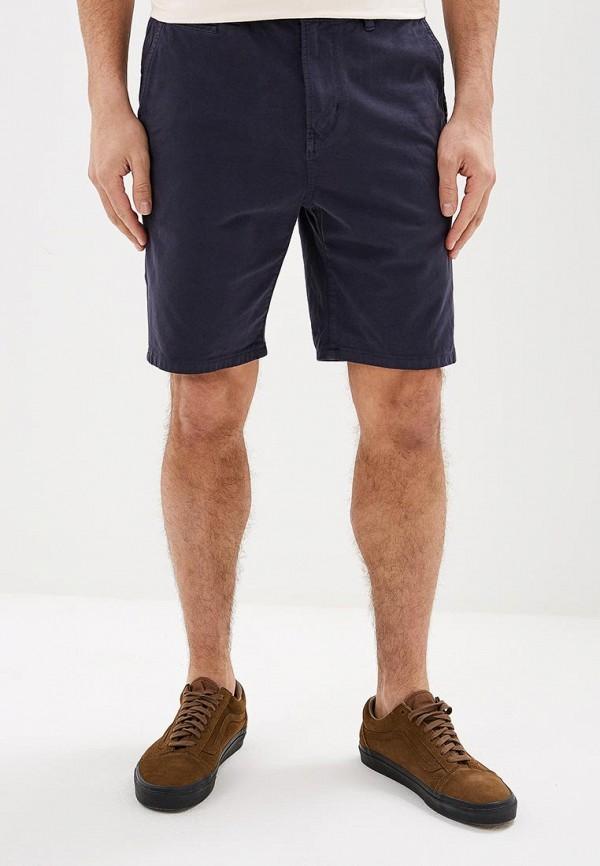 Фото - мужские спортивные шорты Quiksilver синего цвета