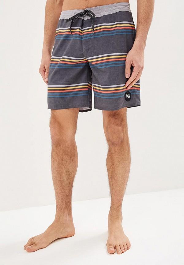 мужские спортивные спортивные шорты quiksilver, серые