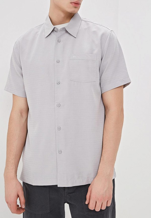 мужская рубашка quiksilver, серая