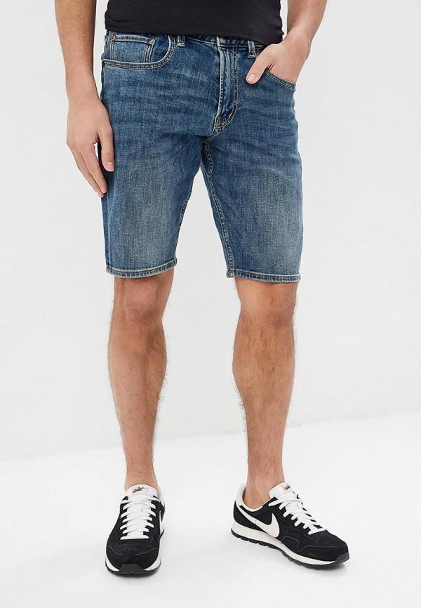 мужские спортивные шорты quiksilver, синие