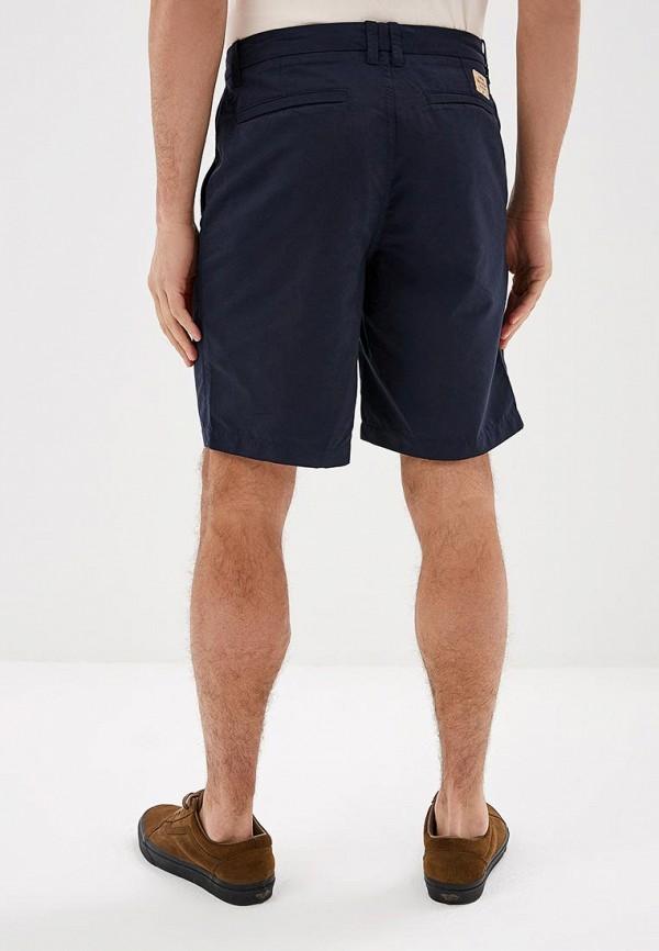 Фото 3 - мужские спортивные шорты Quiksilver синего цвета