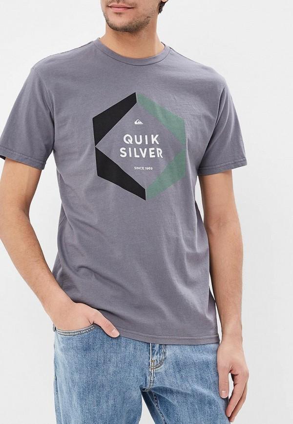 Футболка Quiksilver Quiksilver QU192EMEGTT5 футболка quiksilver ssclafinfanatic eggshell blue