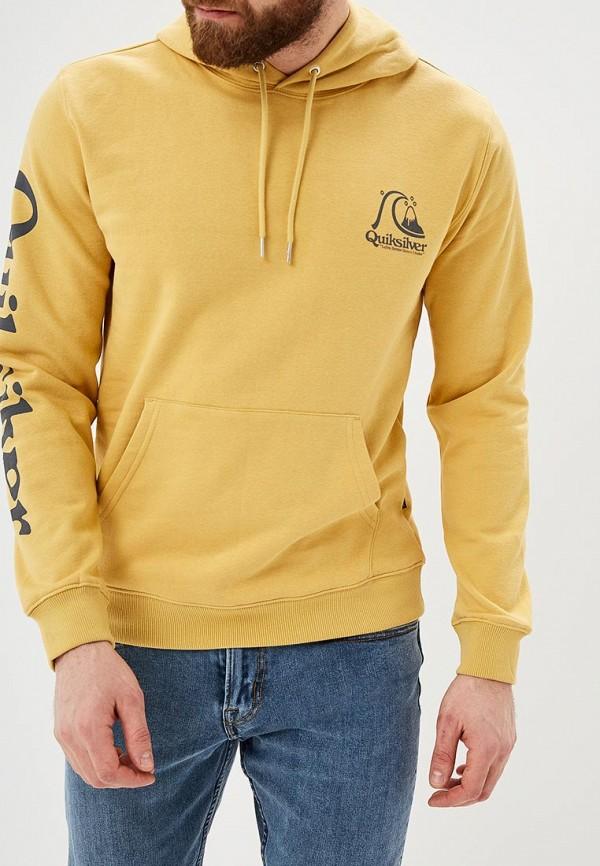 мужские худи quiksilver, желтые