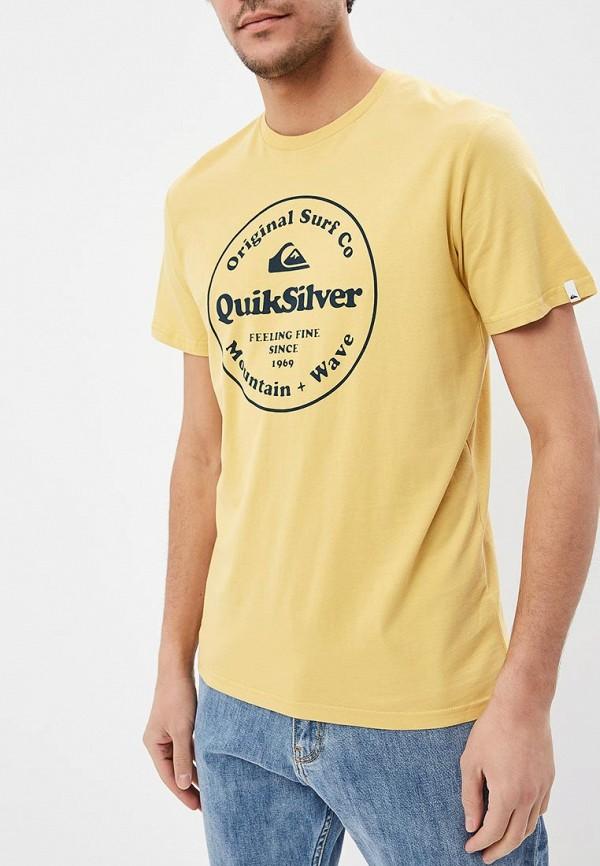 Футболка Quiksilver Quiksilver QU192EMEGTU2 футболка quiksilver quiksilver qu192empvf59