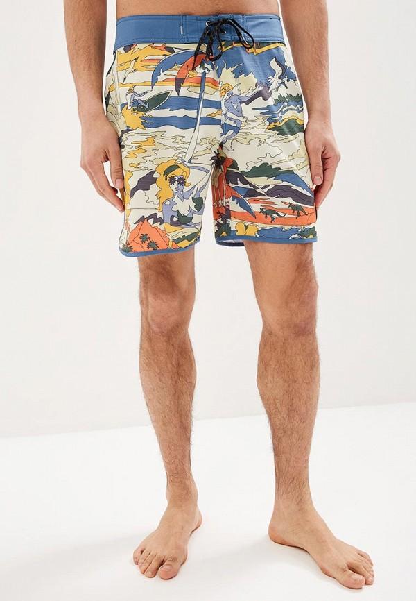 мужские спортивные спортивные шорты quiksilver, разноцветные