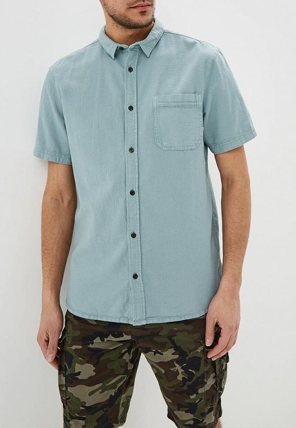 мужская рубашка quiksilver, бирюзовая