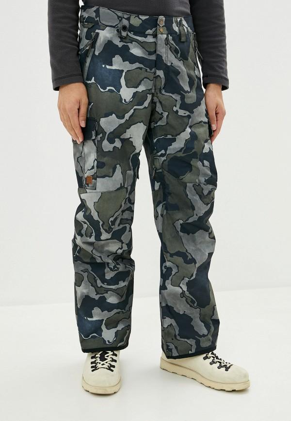 мужские сноубордические брюки quiksilver, хаки