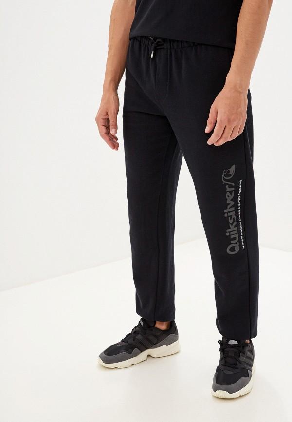 мужские спортивные спортивные брюки quiksilver, черные