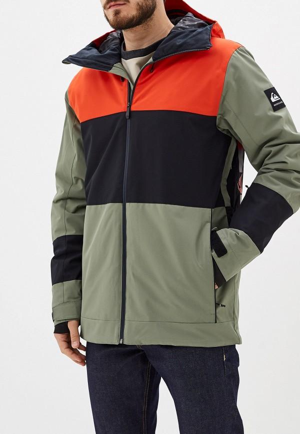 Куртка горнолыжная Quiksilver Quiksilver QU192EMFZOZ7 куртка мужская quiksilver цвет бордовый eqytj03185 rzc0 размер xxl 54