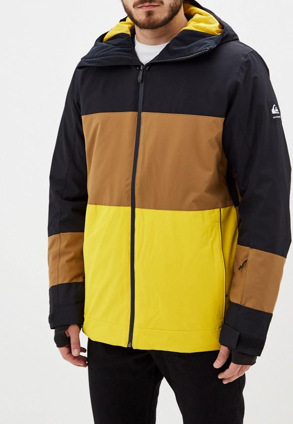 Куртка горнолыжная Quiksilver Quiksilver QU192EMFZOZ8 куртка мужская quiksilver цвет бордовый eqytj03185 rzc0 размер xxl 54