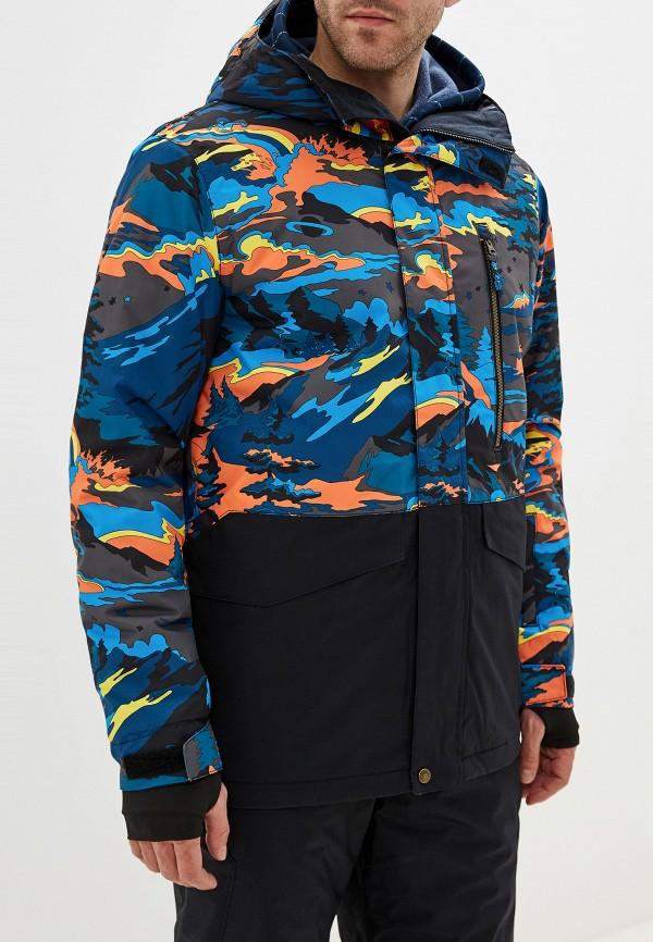 мужская куртка quiksilver, разноцветная