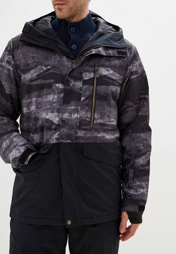 мужская куртка quiksilver, серая
