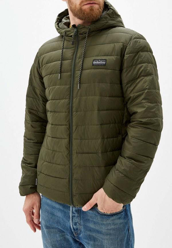 Фото - Куртку утепленная Quiksilver цвета хаки