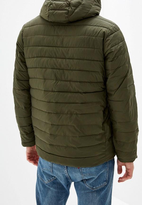 Фото 3 - Куртку утепленная Quiksilver цвета хаки