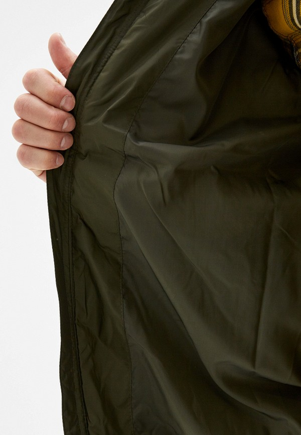 Фото 4 - Куртку утепленная Quiksilver цвета хаки