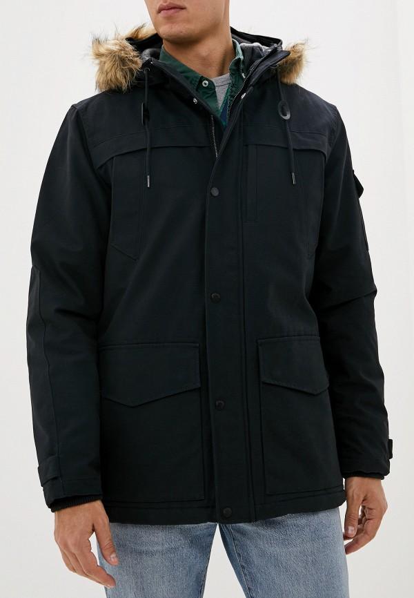 мужская куртка quiksilver, черная