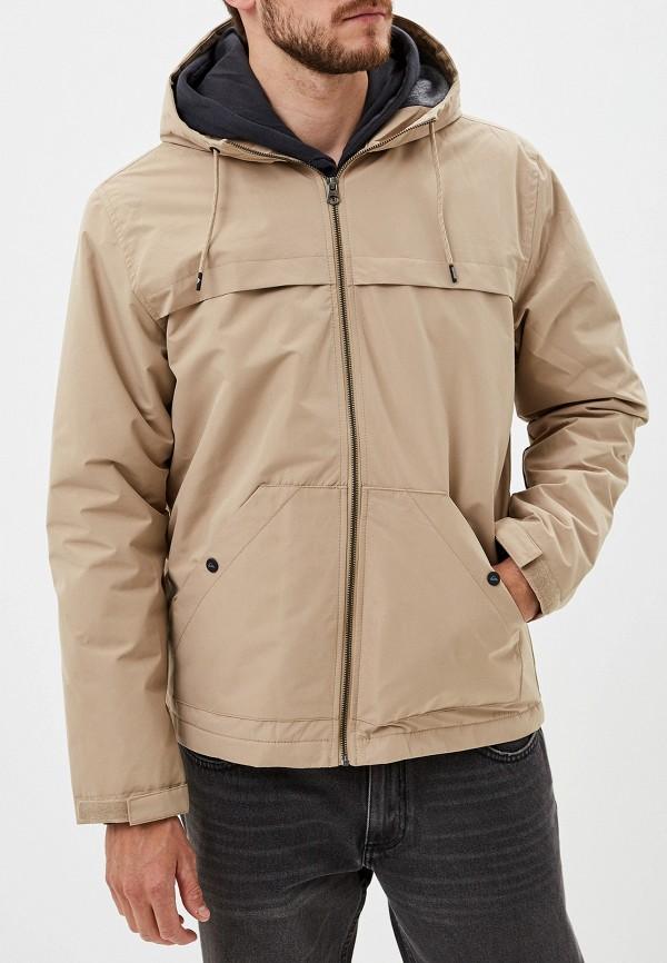 мужская куртка quiksilver, бежевая