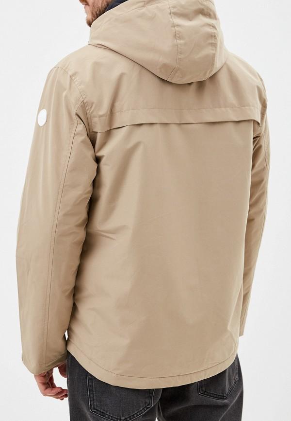 Фото 3 - Куртку утепленная Quiksilver бежевого цвета