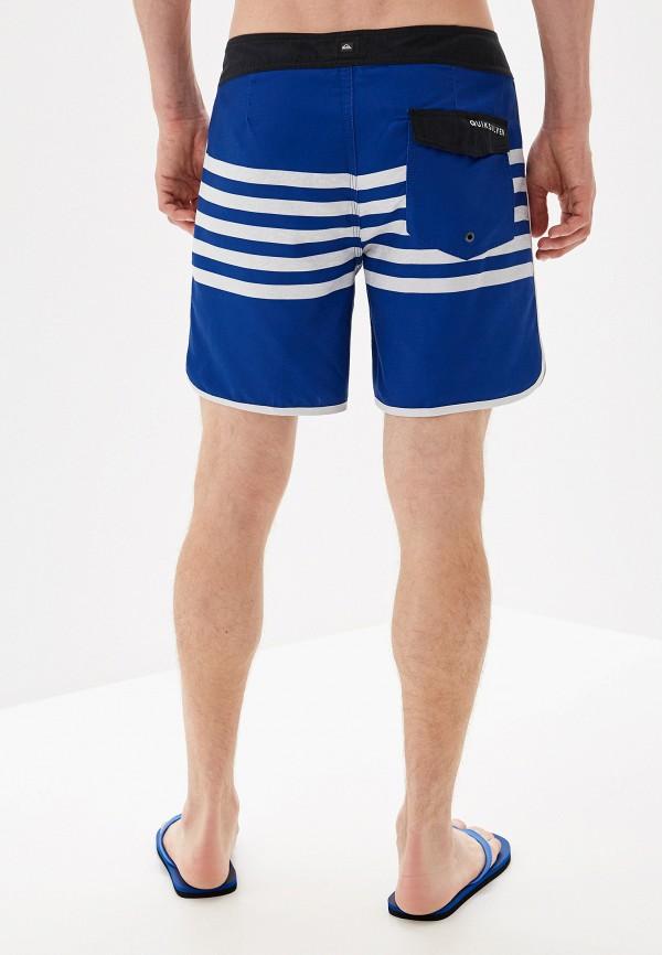 Фото 2 - Шорты для плавания Quiksilver синего цвета