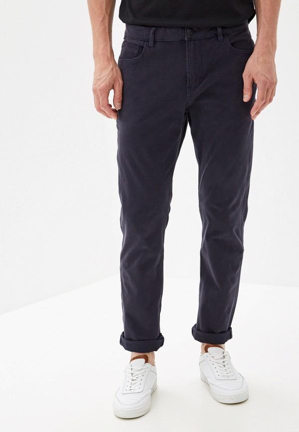 мужские повседневные брюки quiksilver, синие