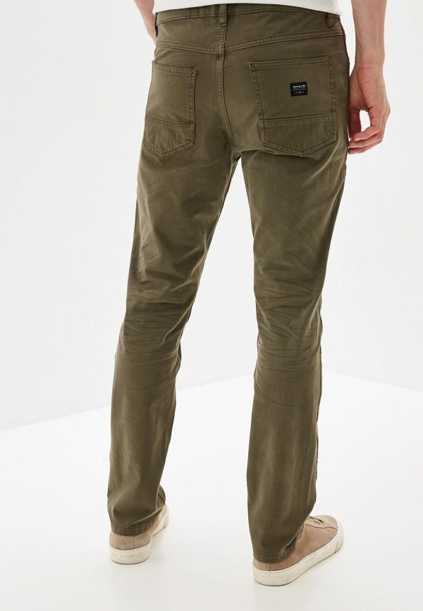 Фото 3 - мужские брюки Quiksilver цвета хаки